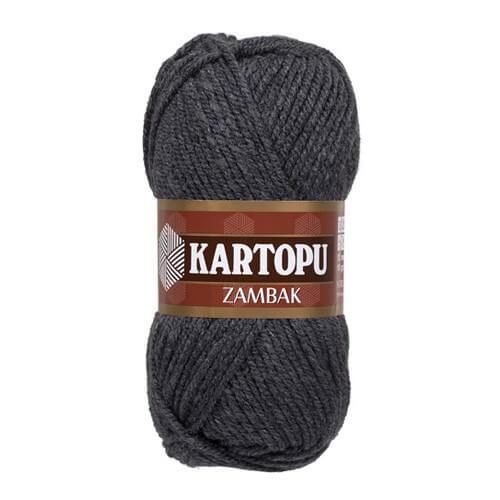 Kartopu Zambak Füme El Örgü İpi - K1003
