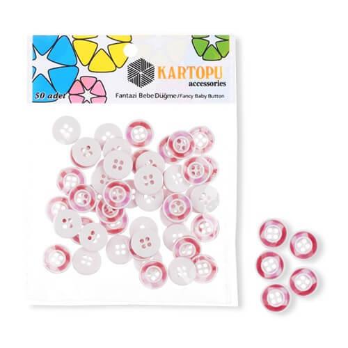 Kartopu Fantazi Bebe Düğme - KFB105