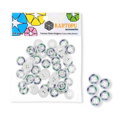 Kartopu Fantazi Bebe Düğme - KFB110
