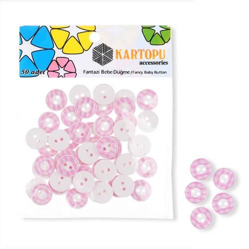 Kartopu Fantazi Bebe Düğme - KFB116