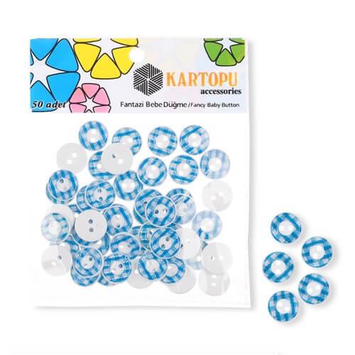 Kartopu Fantazi Bebe Düğme - KFB115