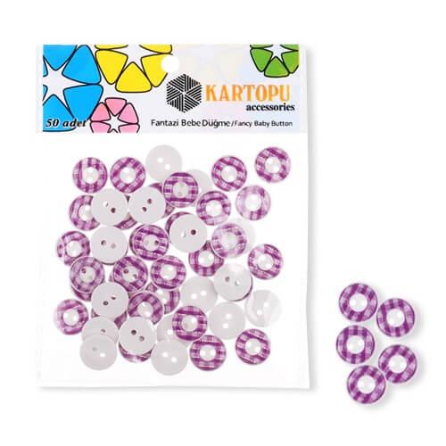 Kartopu Fantazi Bebe Düğme - KFB117