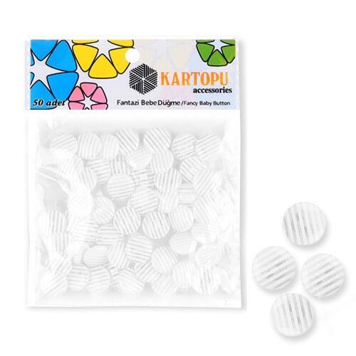 Kartopu Fantazi Bebe Düğme - KFB129