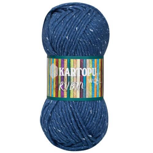 Kartopu Rubin Koyu Mavi El Örgü İpi - K650