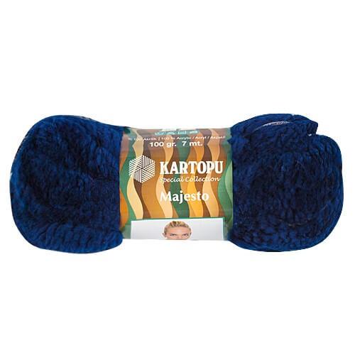 Kartopu 5'li Paket Majesto Lacivert El Örgü İpi - K632