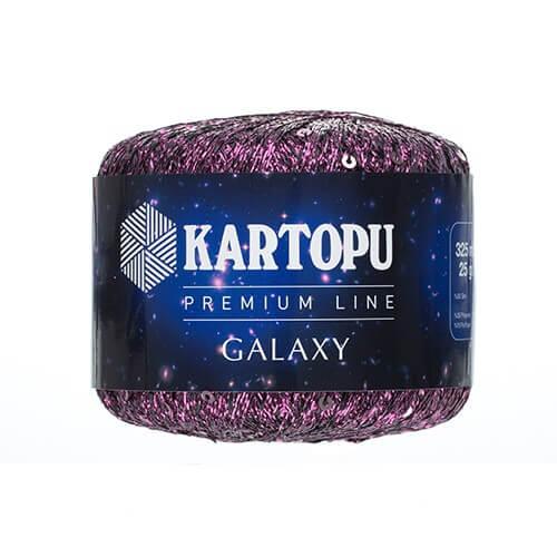 Kartopu 5'li paket Galaxy Mor El Örgü İpi - KF353