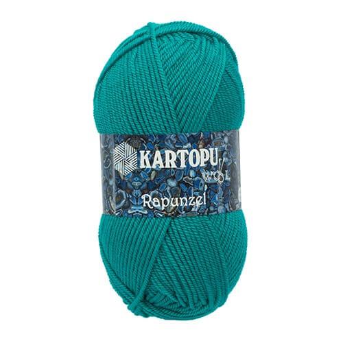 Kartopu Rapunzel Yeşil El Örgü İpi - K466