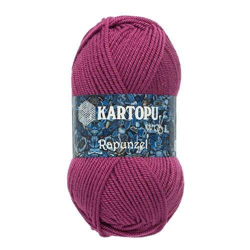 Kartopu Rapunzel Mor El Örgü İpi - K736