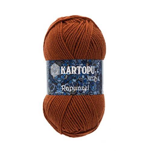 Kartopu Rapunzel Kahverengi El Örgü İpi - K830