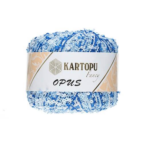 Kartopu 5'li Paket Opus Mavi El Örgü İpi - SR104