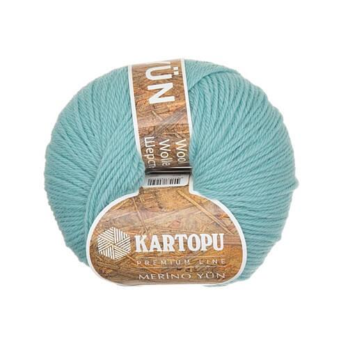 Kartopu Merino Açık Mavi El Örgü İpi - K435