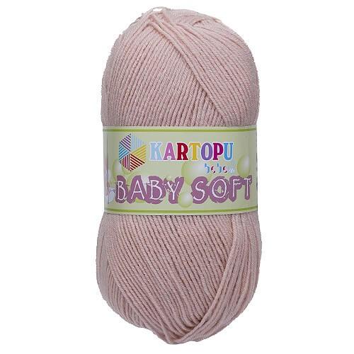 Kartopu 5'li Paket Baby Soft Bej Bebek Yünü - K873