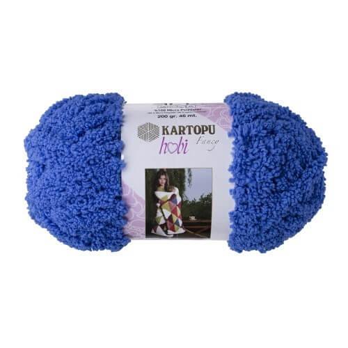 Kartopu Hobi Mavi El Örgü İpi - K533
