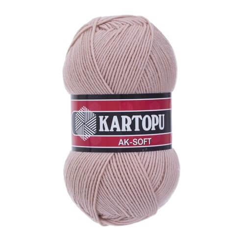 Kartopu Ak-Soft Açık Mor El Örgü İpi - K872