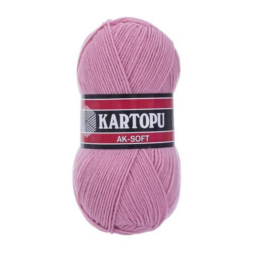Kartopu Ak-Soft Lila El Örgü İpi - K764
