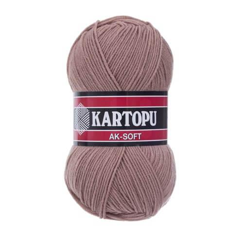 Kartopu Ak-Soft Bej El Örgü İpi - K885