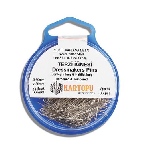 Kartopu 360 Adet Terzi İğnesi - K002.1.0017