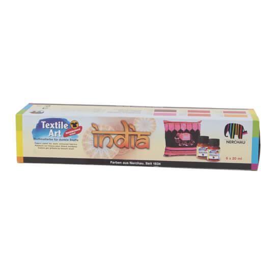 Nerchau India Koyu Renkler Tekstil Kumaş Boyası
