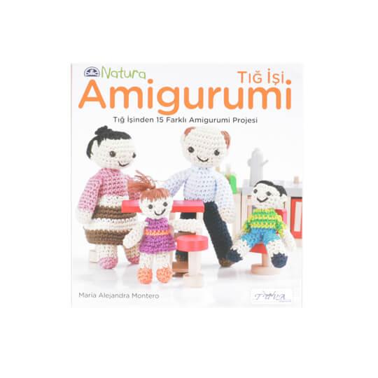 DMC Natura Tığ İşi Amigurumi Kitabı - 5850