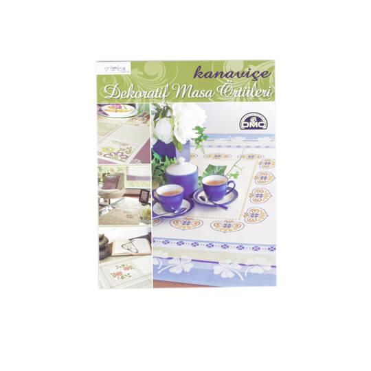 Kanaviçe Dekoratif Masa Örtüleri Nakış Dergisi - 5520