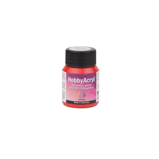 Nerchau Hobby Arcyl 59 Ml Kırmızı Parlak Akrilik Boya