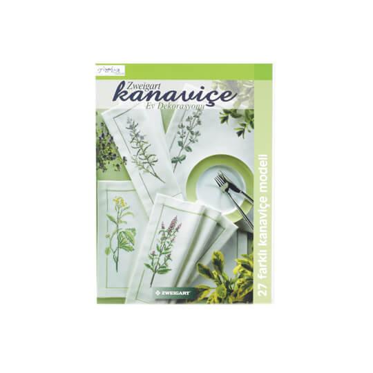 Zweigart Kanaviçe Ev Dekorasyonu Nakış Dergisi - 5320