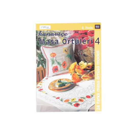 Kanaviçe Masa Örtüleri 4 Nakış Dergisi - 5430