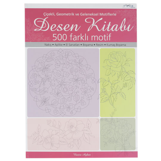 Nazire Ayhan Desen Kitabı Dikiş Dergisi