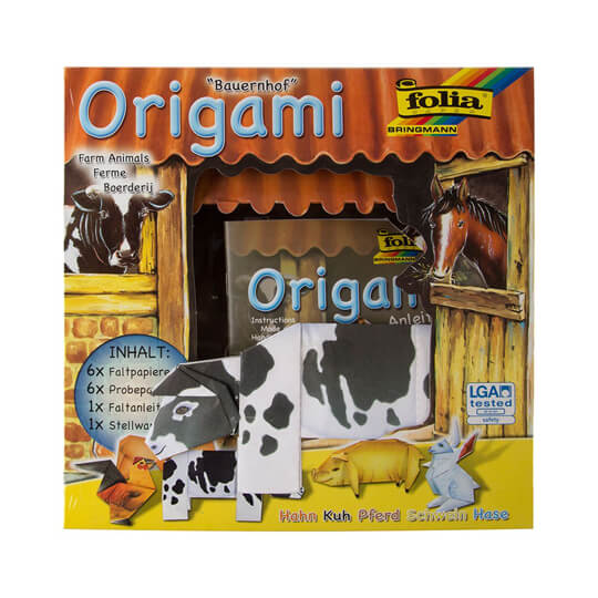 Folia 3 Boyutlu Puzzle  Origami Seti