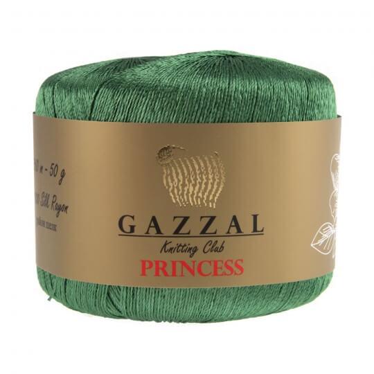 Gazzal Princess Zümrüt Yeşili El Örgü İpi - 3012