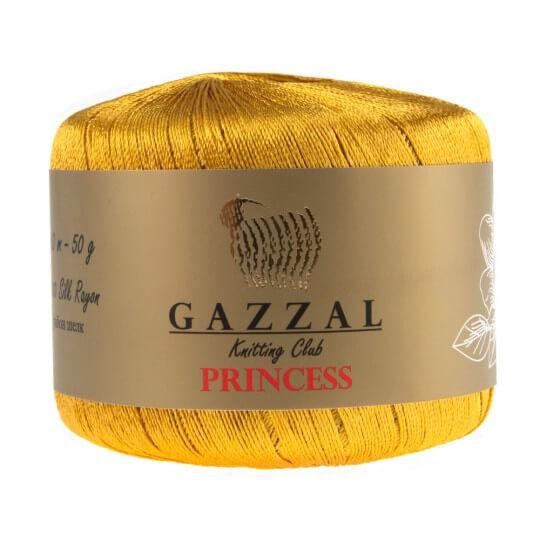 Gazzal Princess Hardal Sarısı El Örgü İpi -3018