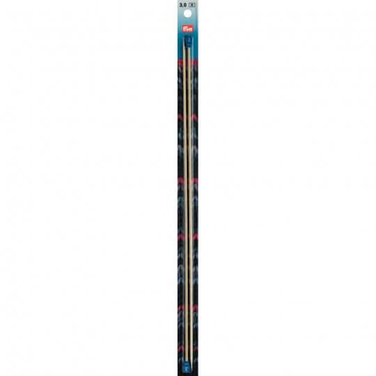 PRYM 3 mm 40 cm Parlak Alüminyum Örgü Şişi - 171307
