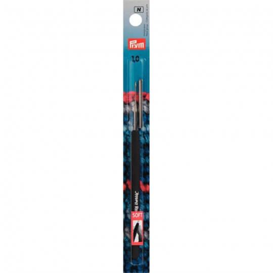 PRYM No:12 1,0 mm Yumuşak Saplı Çelik Dantel Tığ - 175623
