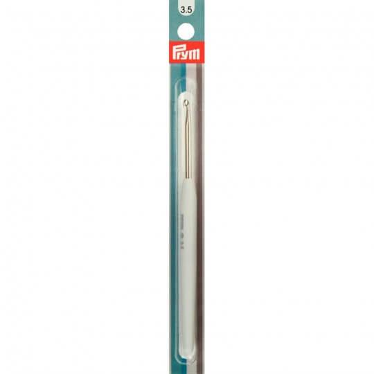 PRYM 3,5 mm 14 cm Beyaz Silikon Saplı Yün Tığ -  195343