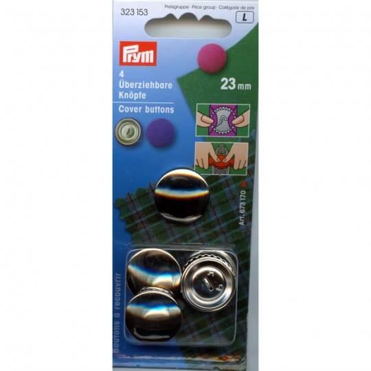 PRYM Metal Aparatsız Kaplama Düğme - 323153