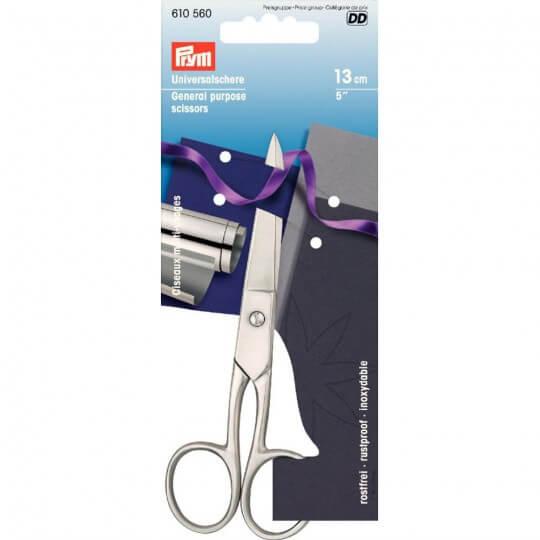 PRYM 13 Cm Gümüş Çok Amaçlı Çelik Makas - 610560
