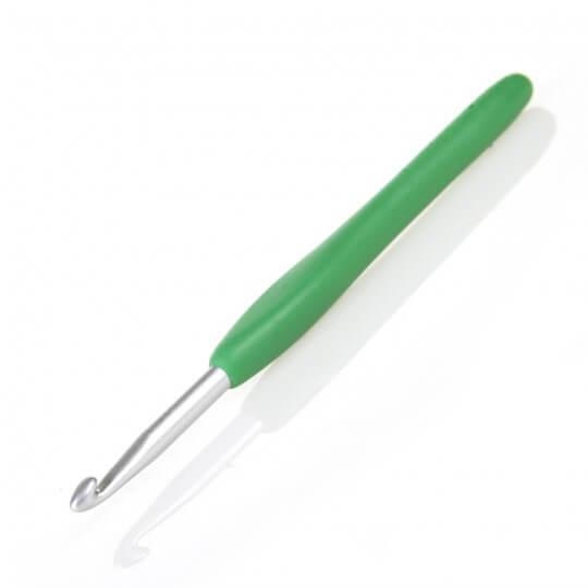 Clover Amour  5,5 mm Yeşil Yumuşak Saplı Yün Tığ - 1048 - I