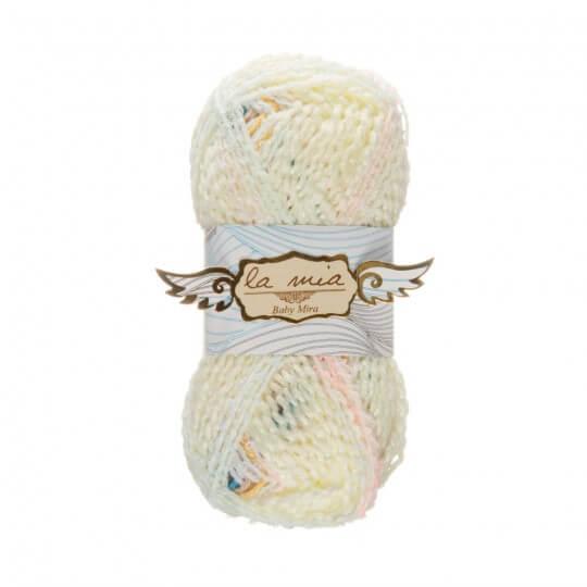 La Mia Baby Mira 10'lu Paket Ebruli Bebek Yünü