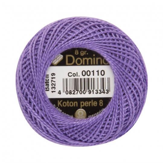 Domino Koton Perle 8gr Mor No:8 Nakış İpliği - 00110