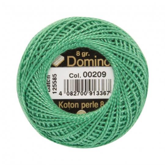 Domino Koton Perle 8gr Yeşil No:8 Nakış İpliği - 00209