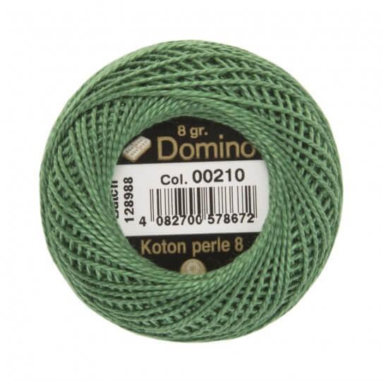 Domino Koton Perle 8gr Yeşil No:8 Nakış İpliği - 00210