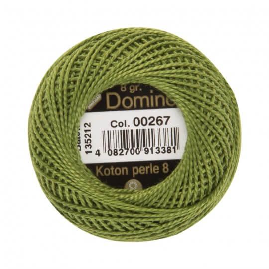 Domino Koton Perle 8gr Yeşil No:8 Nakış İpliği - 00267