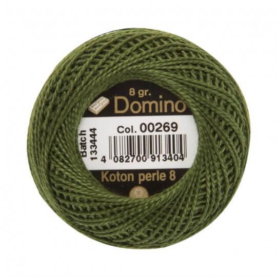 Domino Koton Perle 8gr Yeşil No:8 Nakış İpliği - 00269