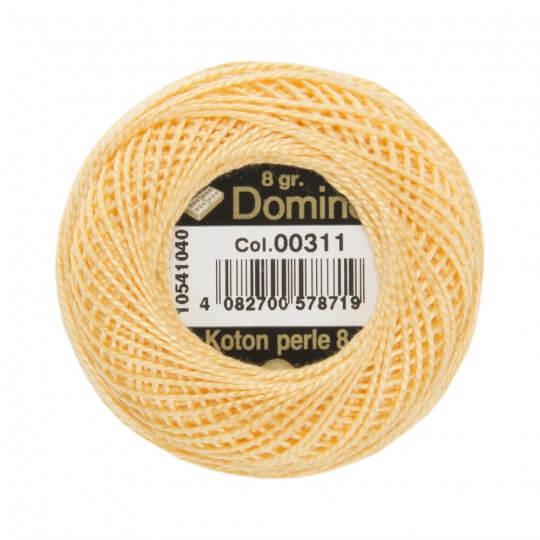 Domino Koton Perle 8gr Sarı No:8 Nakış İpliği - 00311