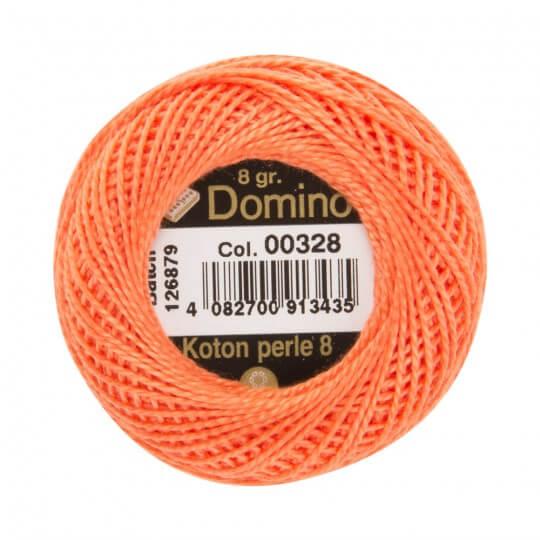 Domino Koton Perle 8gr Turuncu No:8 Nakış İpliği - 00328