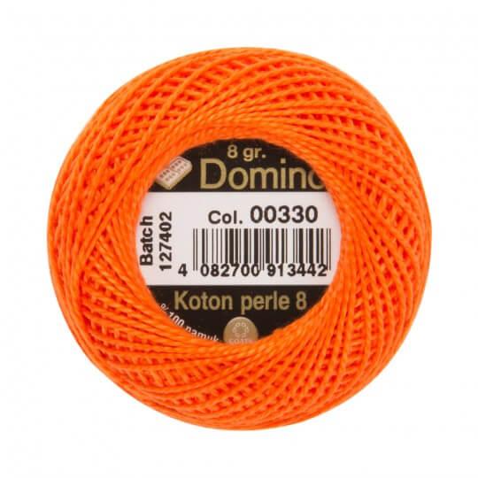 Domino Koton Perle 8gr Turuncu No:8 Nakış İpliği - 00330