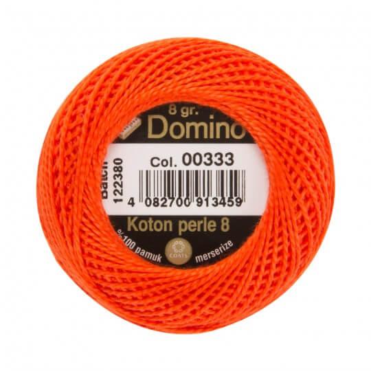 Domino Koton Perle 8gr Turuncu No:8 Nakış İpliği - 00333