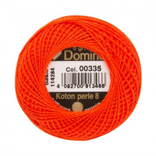 Domino Koton Perle 8gr Turuncu No:8 Nakış İpliği - 00335