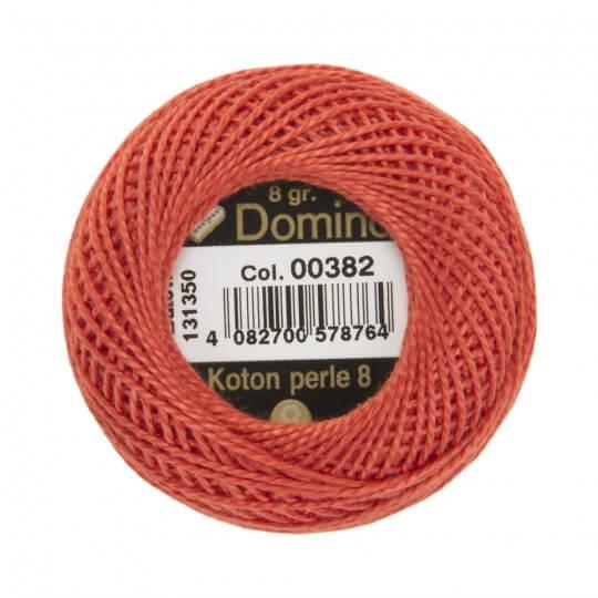 Coats Domino 8gr Kırmızı No: 8 Nakış İpliği - 00382