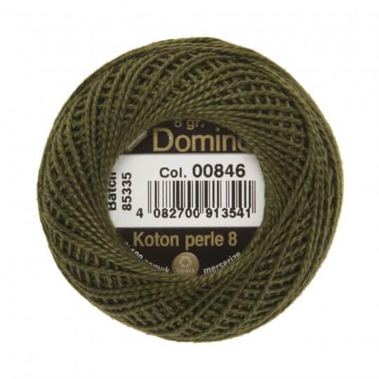 Domino Koton Perle 8gr Yeşil No:8 Nakış İpliği - 00846